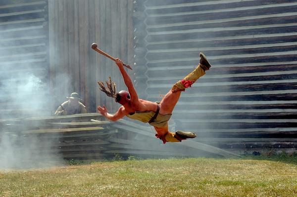 2007 Pioneer Re-enactment: Siege of Fort Boonesborough
