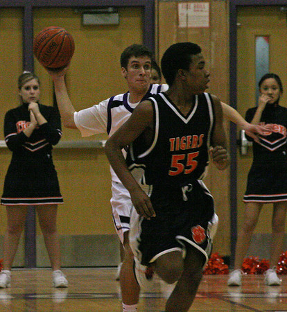 Belleville at Pioneer basketball 2007