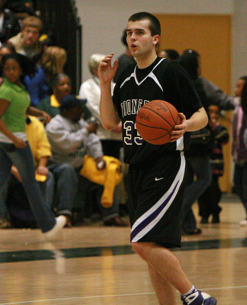 Pioneer at Huron basketball 2009