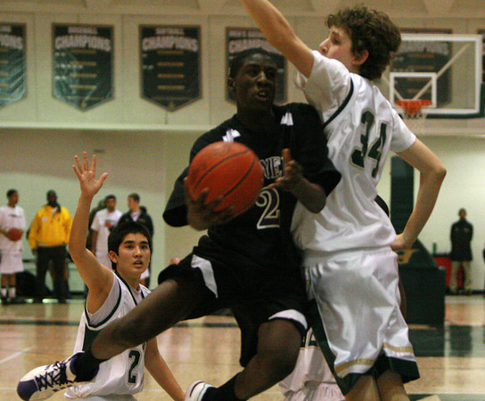Pioneer at Huron basketball 2009 - JV