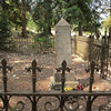 This is a modest cemetery, with few of the elaborately carved stones you see in other cemeteries of the era.  This plot, for more of the Long family, is exceptional for having a wrought iron fence around it.
