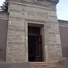 Hope Abbey is designed in the Egyptian Revival style.  It is said to be the finest building in that style in Oregon.