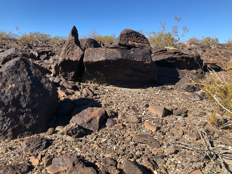 Not too far from the crash site, I seen this possible shelter maybe used by the peoples who lived here thousands of years ago. I seen a better shelter closer to the crash site but only took video of it. That one actually had rocks moved to make it a better shelter.