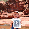 With Town Lake in ruins, the Piper had to find water somewhere; so, he headed for the cool of Sedona's Slide Rock State Park.