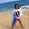 Zoe<br /> <br /> Boogie Boarding at Poipu Beach, Kauai, HI