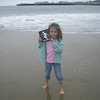 Rylee<br /> Wading in the Pacific Ocean at the Santa Cruz Beach Boardwalk.