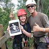 Zoe and Trevor<br /> <br /> Zip Lining in Kauai
