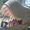 Piper visits the dinosaurs in Cabazon, California....Don't worry, he made it home safe!