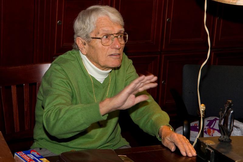 Jim Allison addresses the OC Briar Pipe Club