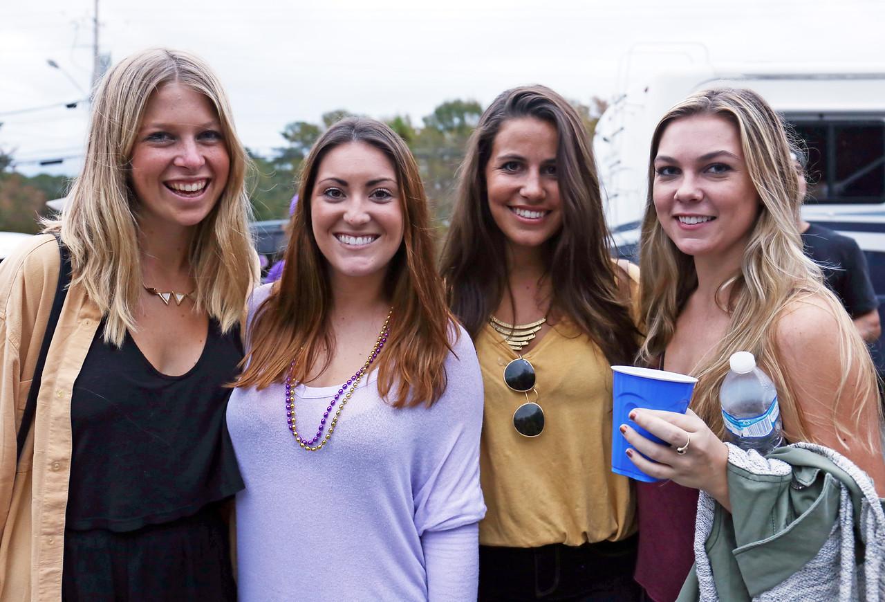 East Carolina University tailgaters on Saturday, Nov. 7, 2015 (Will Preslar Photography)