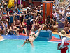 Bellyflop competition.