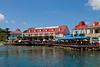 Dockside in Roatan.