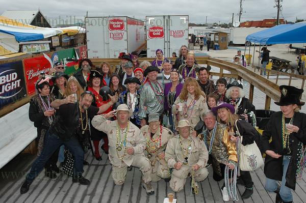 Pirates of Lost Treasure Mardi Gras Flotilla- 2008
