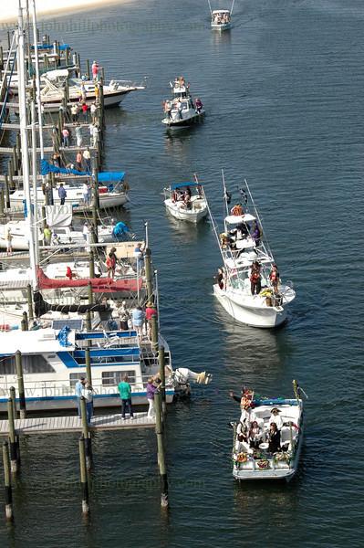 Pirates of Lost Treasure Mardi Gras Flotilla- 2009