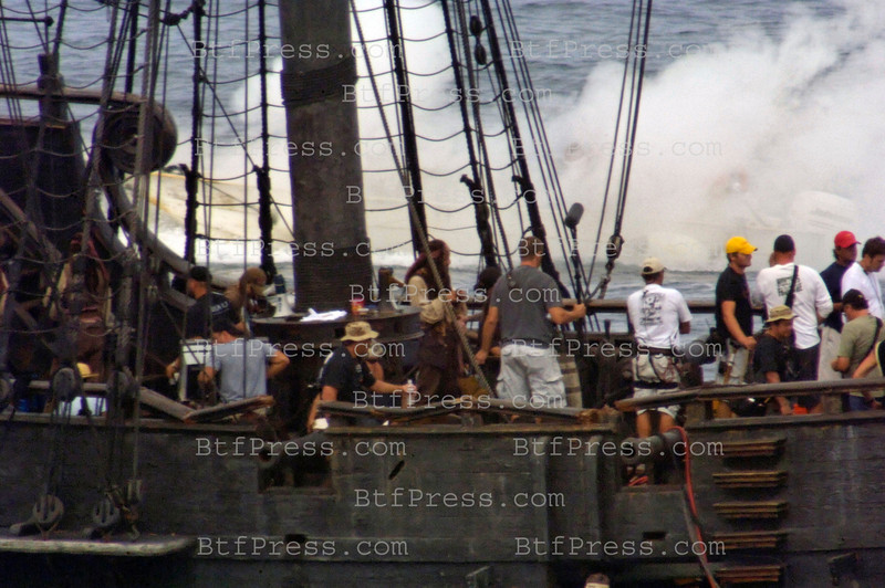 EXCLUSIVE-Captain Sparrow,Will Turner and Elizabeth Swann must sail off the edge of the map, navigate treachery and betrayl,and make their final alliances for one last decisive battle.