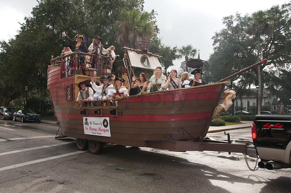 2011 St. Augustine Pirate Gathering on Oct. 29