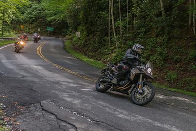 Pisgah Moto Adventures Open House Ride -1