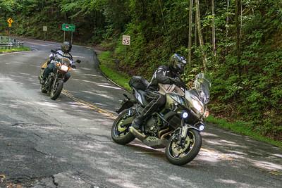 Pisgah Moto Adventures Open House Ride -11