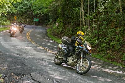 Pisgah Moto Adventures Open House Ride -3