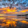 pismo sunset reflections-8872