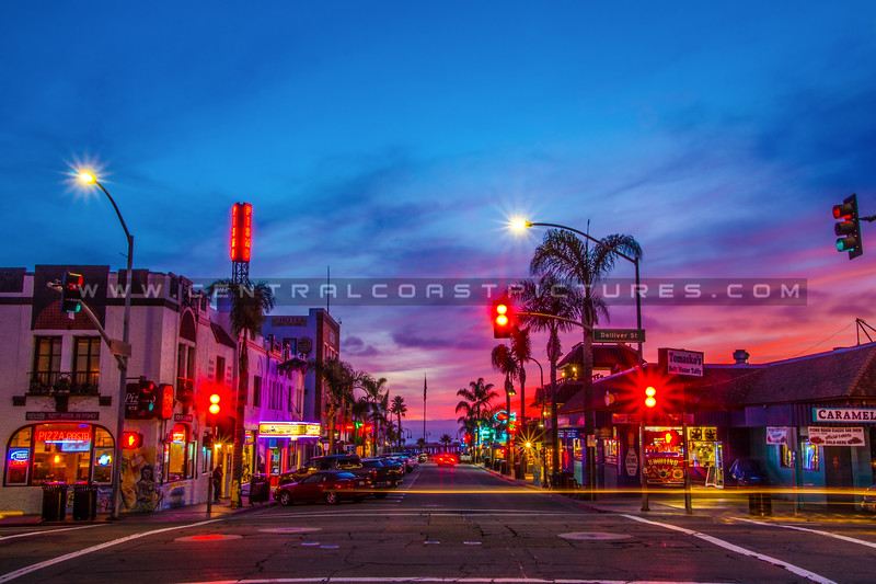 downtown pismo beach night-7705-3