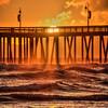 pismo beach pier sun 0742-