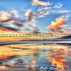 pismo sunset reflection_8041