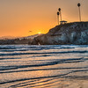 pismo gazebo sunset 3084
