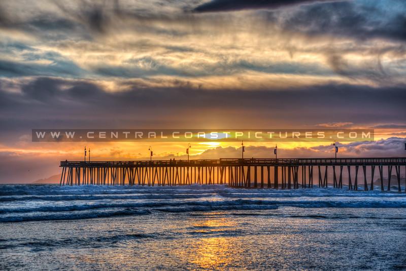 pismo beach reflections 3725-