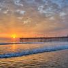 pismo pier sunset 4743