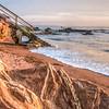 shell beach stairs 1491-