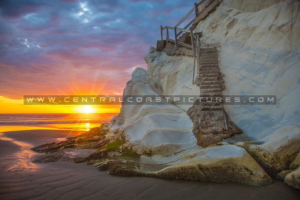 pismo cave stairs-3792