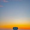 pismo lifeguard tower sunset 6691