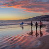 pismo surfers sunset 3764