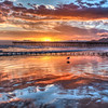 pismo beach reflections 3874-
