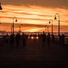 pismo pier sun setting-0519