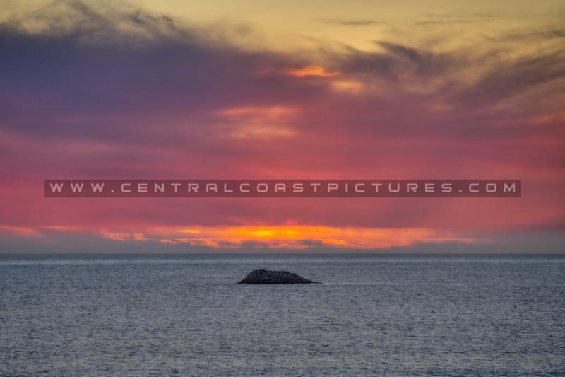 shell beach sunset 0823-