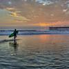 pismo sunset surfer 4792