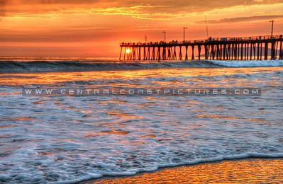 pismo orange sunset_8408