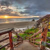 wilmar stairs sunset 3219-