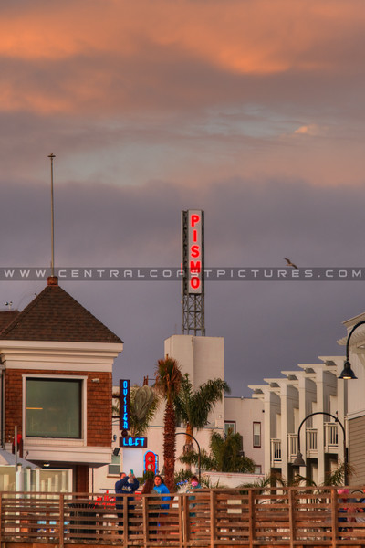 pismo downtown sign 3732