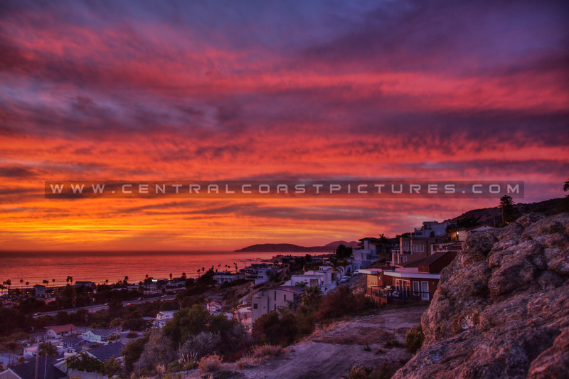 pismo heights sunset 5651