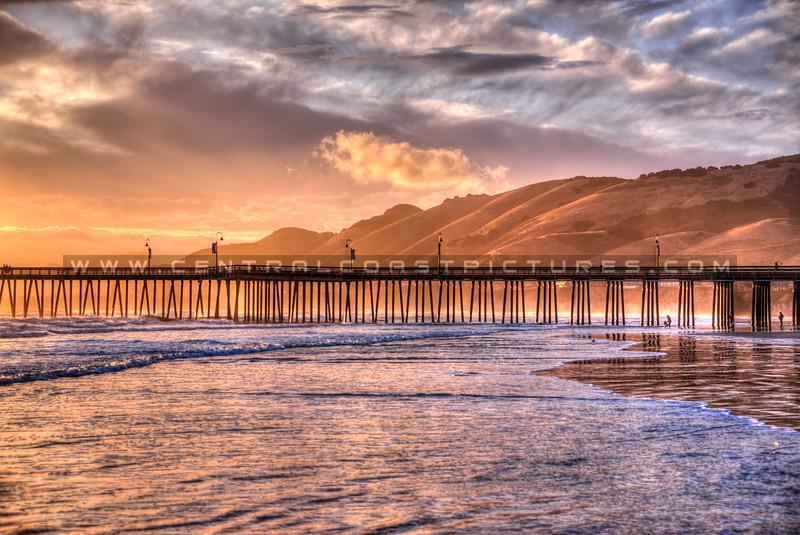 pismo beach reflections 3771-