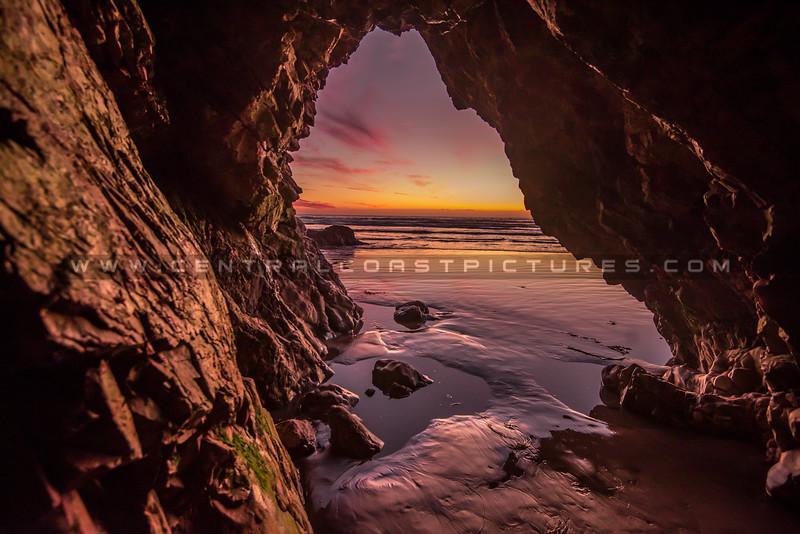 pismo cave sunset-9221