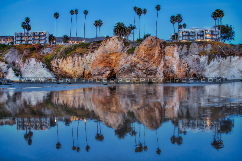pismo cave reflection 0560