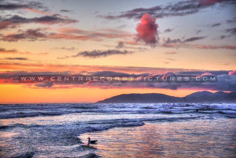 pismo beach sunset 6854-