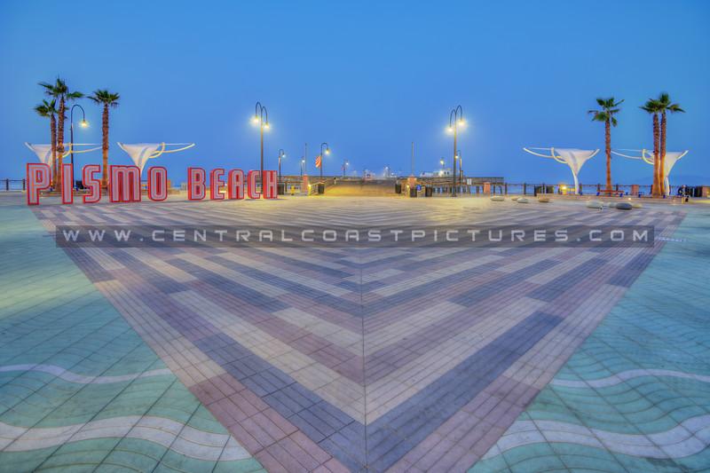 pismo pier plaza sign 5270