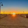 sun setting pismo pier-0491
