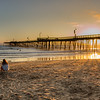 pismo pier gold sunset 2708