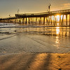 pismo pier gold sunset 2699